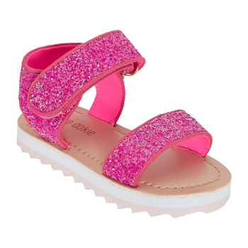 Okie Dokie Toddler Girls Petal Strap Sandals