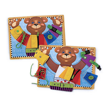 Melissa & Doug Basic Skills Learning Board