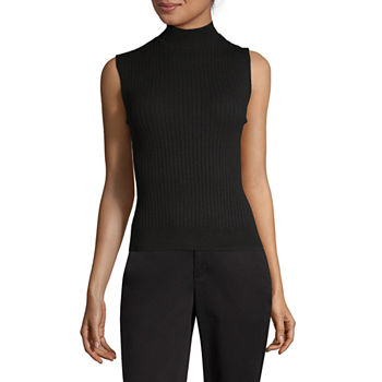 e0c0194c3061a Mock Neck Tops for Women - JCPenney