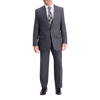 Haggar Travel Performance Stria Tic Tailored Fit Stretch Suit Jacket