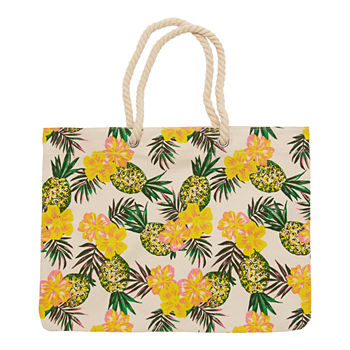 City Streets Beach Tote Bag