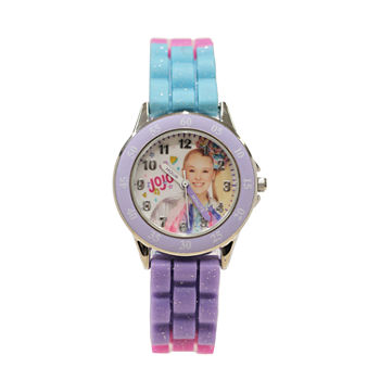 Jojo Siwa Girls Purple Strap Watch-Joj9027jc