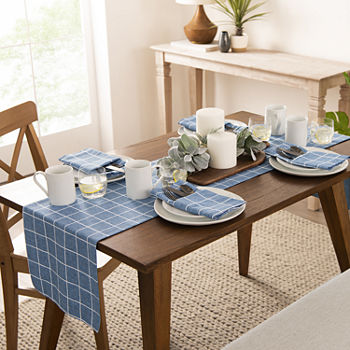 Fieldcrest Window Pane Table Runner