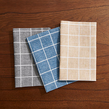 Fieldcrest Window Pane 4-pc. Napkins