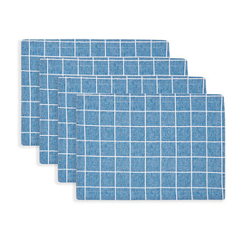 Fieldcrest Window Pane 4-pc. Placemat