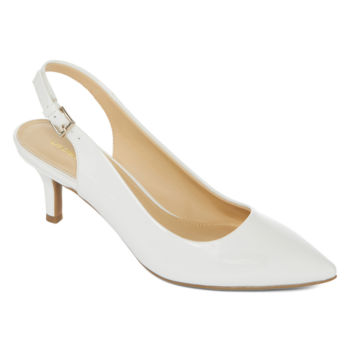 White Women's Pumps & Heels for Shoes - JCPenney