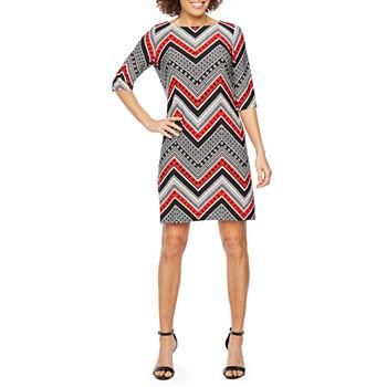 3c90e9d874 Chevron Dresses for Women - JCPenney