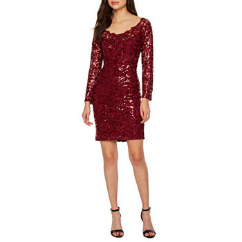f5dcf04f2 CLEARANCE Sequins Dresses for Women - JCPenney