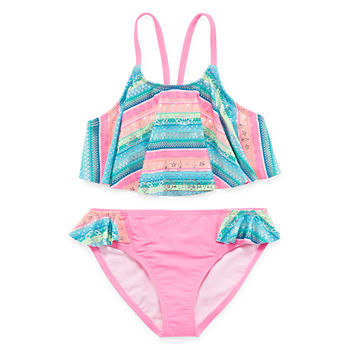 bf221aa3497f7 Girls Bathing Suits, Girls Swimwear - JCPenney