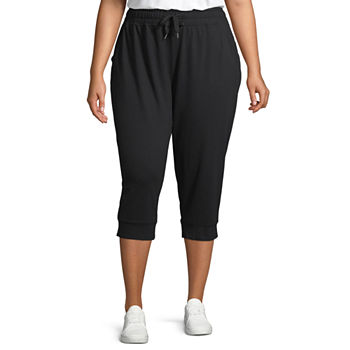 7481dc90be534 Plus Size Pants Activewear for Women - JCPenney