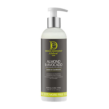 Design Essentials Almond & Avocado Moisturizing & Detangling Leave-in Conditioner -12 oz.