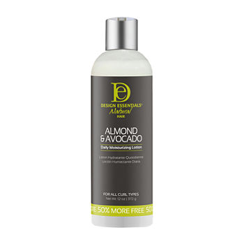 Design Essentials Almond & Avocado Daily Moisturizing Hair Lotion -12 oz.
