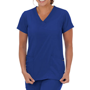 Jockey® 2206 Short-Sleeve V-Neck Top