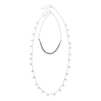 a.n.a 36 Inch Beaded Necklace