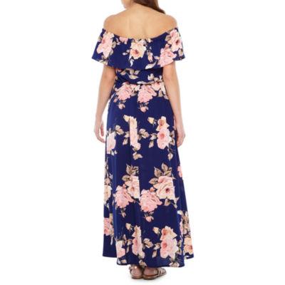 Dark coloured maxi dresses