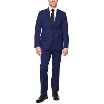 5853966033 Van Heusen Flex Navy Slim Fit Suit Separates