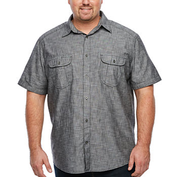 4341e84e63 Button-front Shirts Shirts for Men - JCPenney