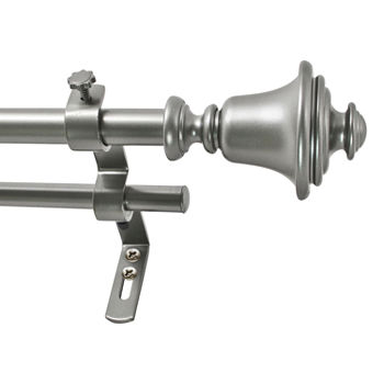 Decopolitan Bell Double Curtain Rod