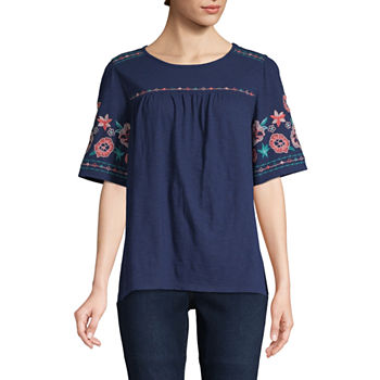 82219ee654bf1e St. John's Bay Classic Shirt Womens Long Sleeve Button-Front Shirt · (81).  Add To Cart. Only at JCP