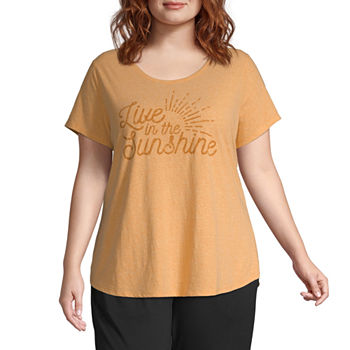 2a42dee0710 Plus Size Yellow for Women - JCPenney