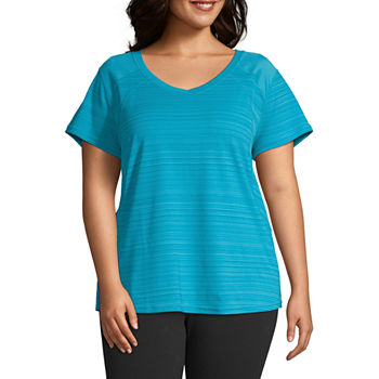 a804b41d392db Xersion Plus Size Tops for Women - JCPenney