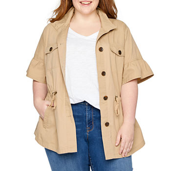 035848a777de Women Plus Size Coats   Jackets for Shops - JCPenney