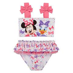 Disney Girls Minnie Mouse Tankini Set - Toddler