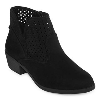 9a4719e4f150 Women s Black Boots - Shop JCPenney