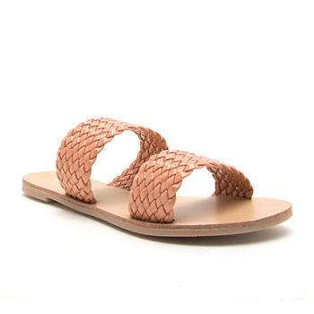 fc277ccbc80 Qupid Women s Sandals   Flip Flops for Shoes - JCPenney