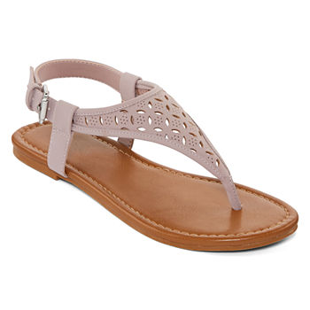 27fd8c75dd57 Flat Sandals Women s Sandals   Flip Flops for Shoes - JCPenney