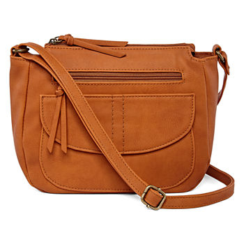 143448178086 Arizona Brown Crossbody Bags for Handbags & Accessories - JCPenney