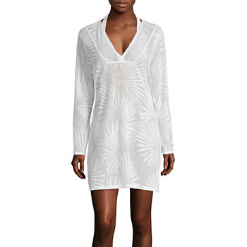 2626aec9e4c55 ... Swimsuit Cover-Up Dress-Plus. Add To Cart. New. White