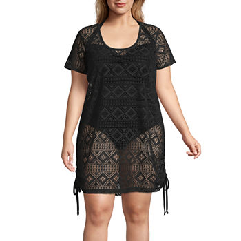 1654c17bad Plus Size Swimsuits   Cover-ups for Women - JCPenney