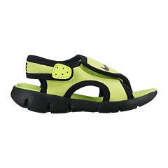 Nike® Sunray Adjustable Boys Sandals – Toddler