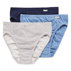 Jockey® Elance® 3-pk. Cotton French-Cut Panties - 1487
