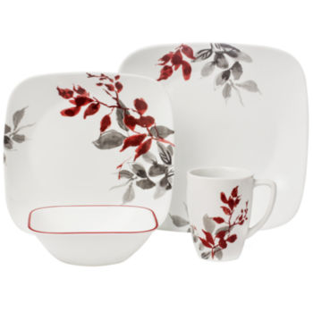 dinnerware sets for 12 corelle dinnerware for the home jcpenney 12224