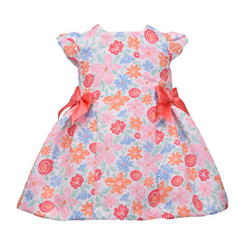 Bonnie Jean Toddler Girls Short Sleeve Fit & Flare Dress