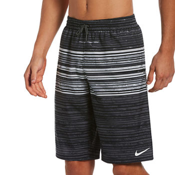"Nike Striped 11"" Volley Shorts"