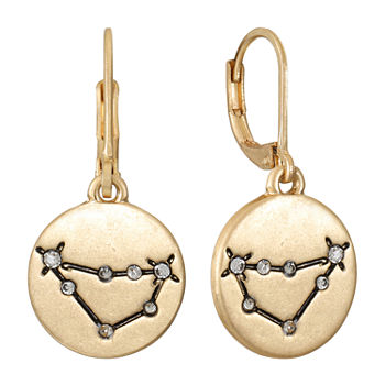 a.n.a Personalized Zodiac Jewelry Drop Earrings