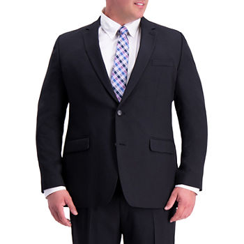 Haggar Mens Stretch Classic Fit Suit Jacket-Big and Tall