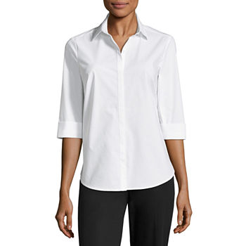 c8a299f4a95 Liz Claiborne Button-front Shirts Tops for Women - JCPenney