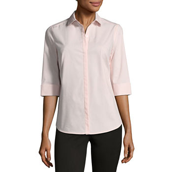 3f908dd7685 Liz Claiborne Button-front Shirts Tops for Women - JCPenney