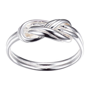Footnotes Sterling Silver Knot Band