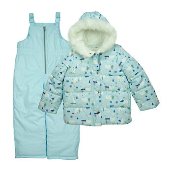 Carter's Baby Girls Heavyweight Animal Snow Suit