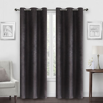 Regal Home Prelude Energy Saving Blackout Grommet-Top Set of 2 Curtain Panel