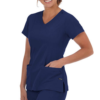 Jockey 2306 Womens V Neck Scrub Top