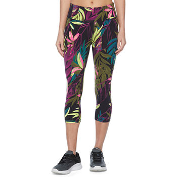 Xersion Studio Mid Rise Workout Capris