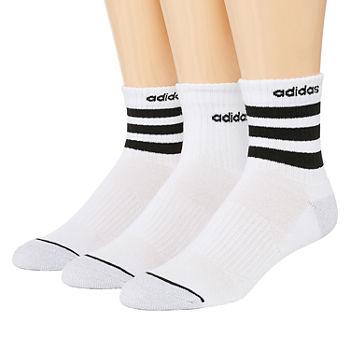 7ccb9df1f adidas Core Stripe 3 Pair Crew Socks-Mens. Add To Cart. Few Left
