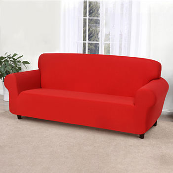 Clearance Department: Loveseat Slipcovers, Red - JCPenney