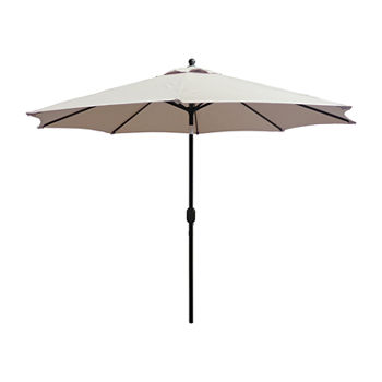 Crank And Tilt Round Patio Umbrella